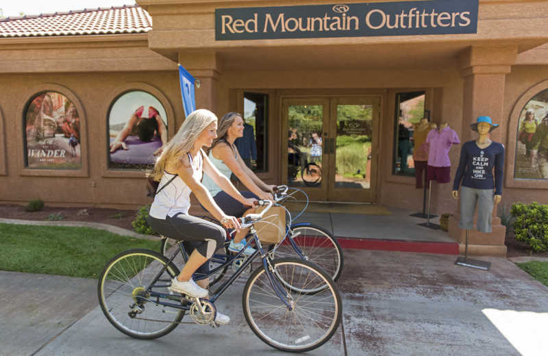 Biking at Red Mountain Resort & Spa.