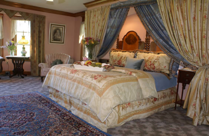 Guest room at Angel at Rose Hall.