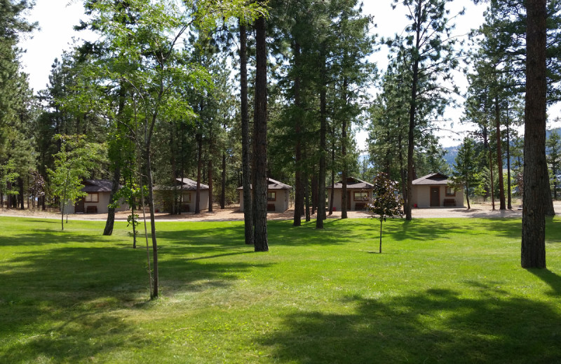 Exterior view of Powers Creek Retreat.
