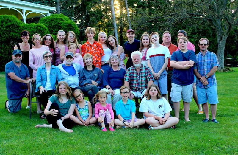 Family reunion at Winter Clove Inn