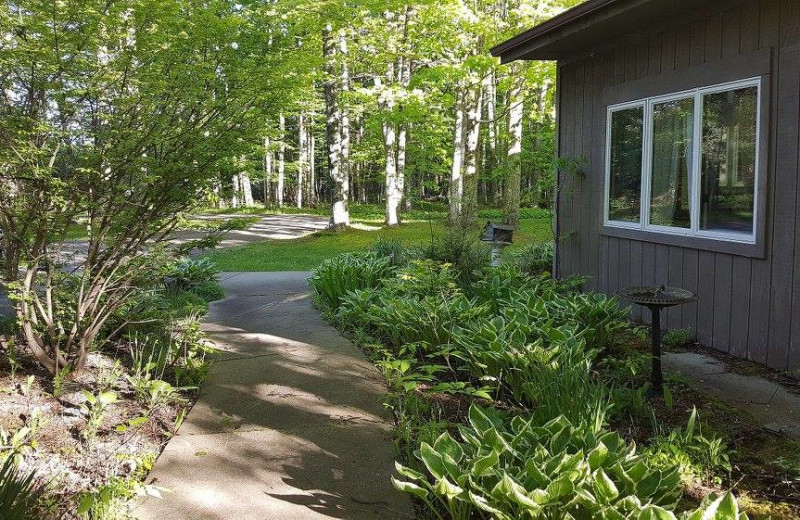 Rental exterior at Door County Vacancies.