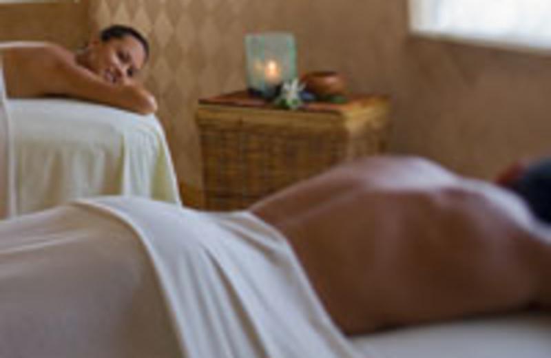Couples spa treatment at Hyatt Regency Waikiki Resort & Spa.