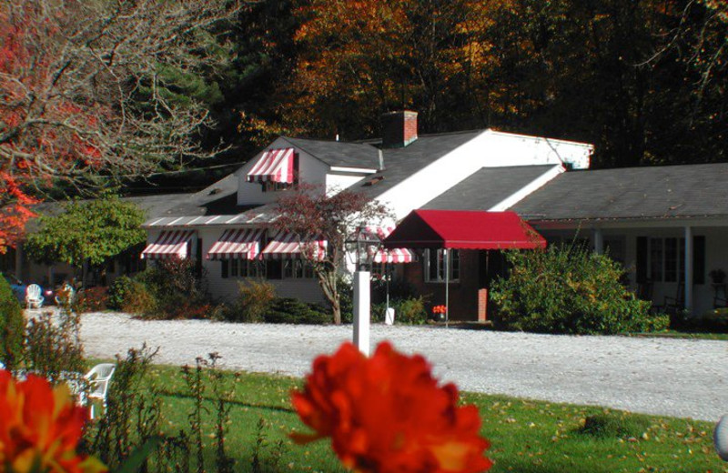 Exterior of Brookside Country Motel