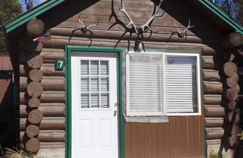 Cabin exterior at North Shore Lodge & Resort.