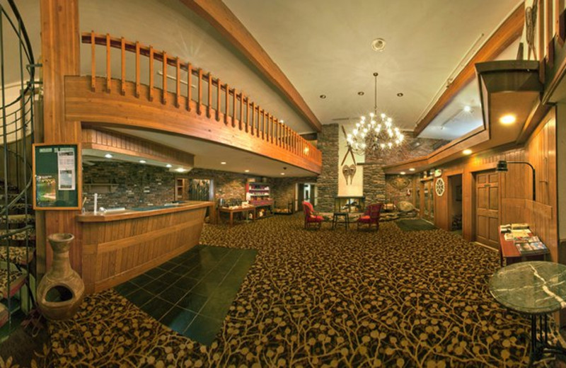 Interior view of Cortina Inn & Resort.