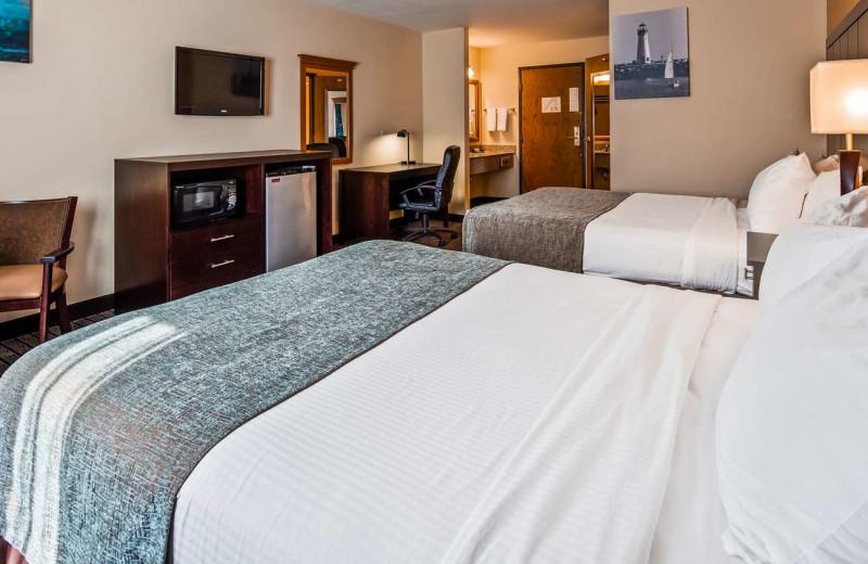 Guest room at Best Western Maritime Inn.
