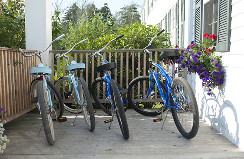 Bikes at Newagen Seaside Inn.