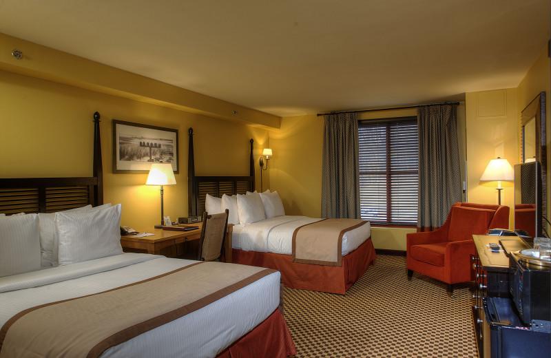 Guest bedroom at Bear Creek Mountain Resort.