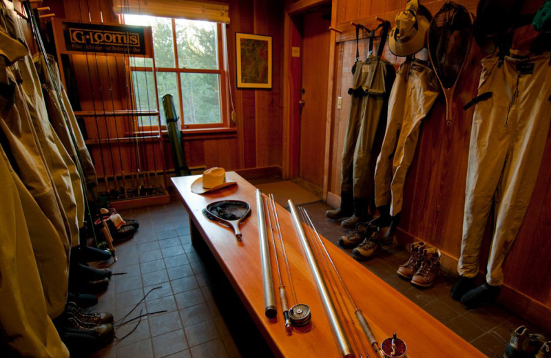 Fishing outfitter at Henry's Fork Lodge.