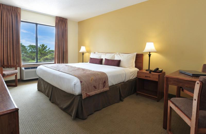 Guest Room at Ramada Wisconsin Dells