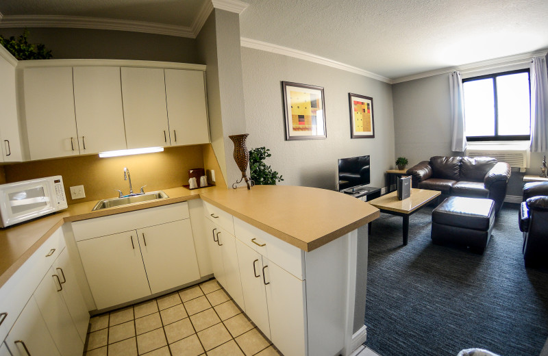 King Hotel Suite at Tanglewood Resort and Conference Center.