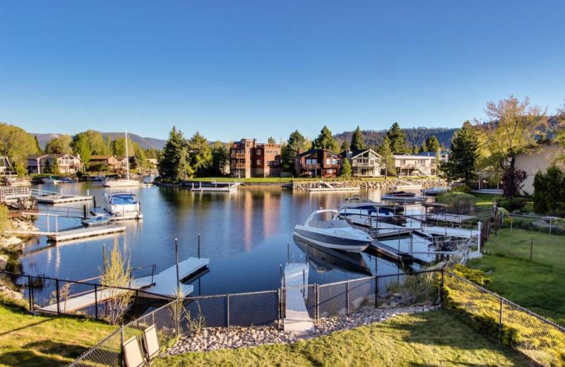 View from vacation rental at Vacasa Rentals Lake Tahoe.