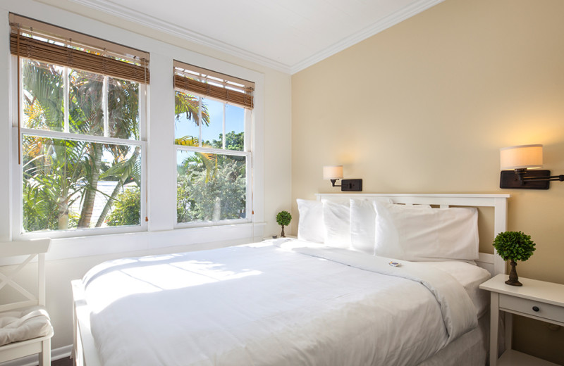 Guest bedroom at Southernmost Inn.