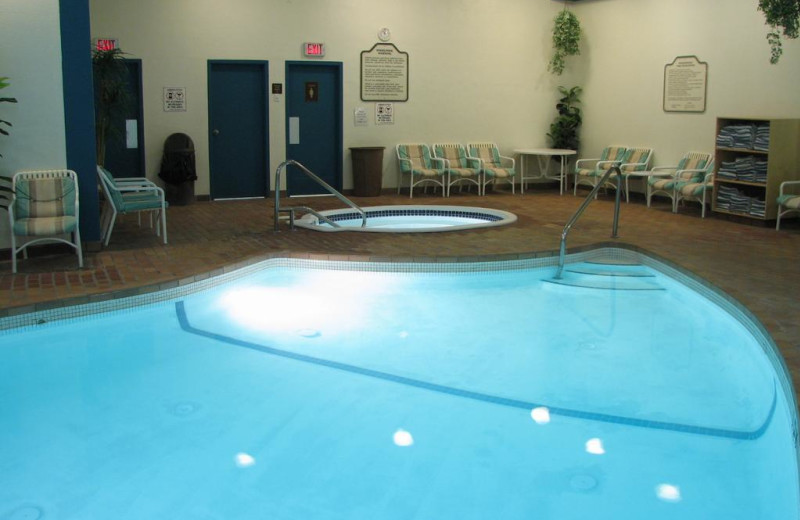 Indoor pool at Inns of Banff.