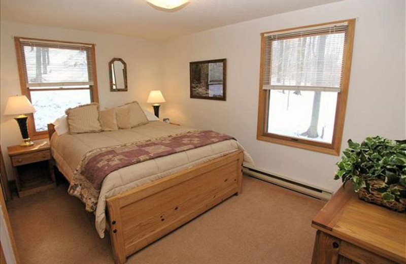 Vacation rental bedroom at Best of Canaan.
