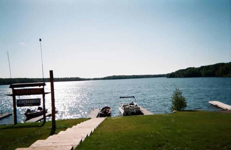 Lake view at Big Musky Resort.