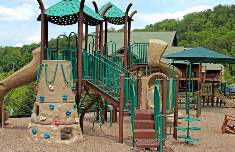 Playground at Westgate Smoky Mountain Resort & Spa.