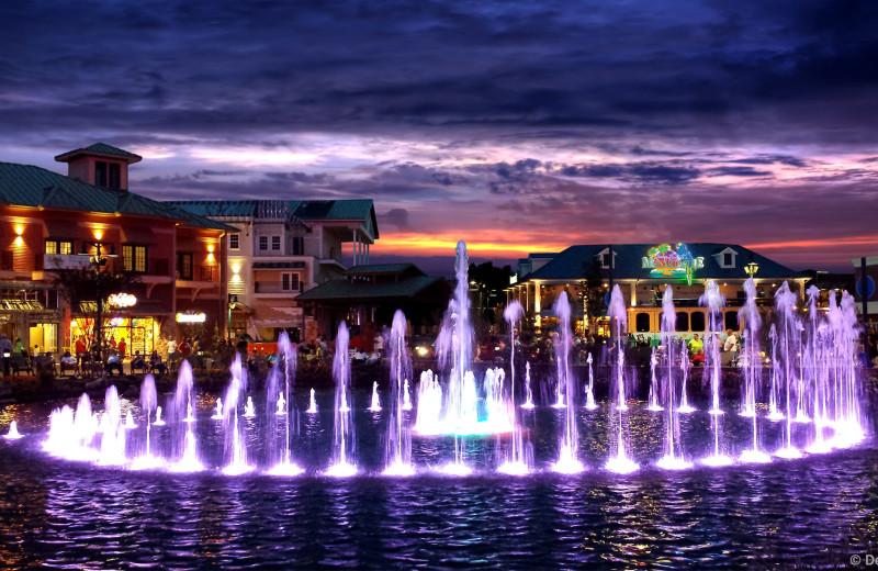 Town near Elk Springs Resort.