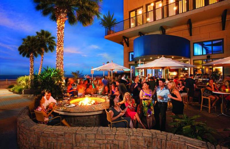 Patio dining at Gold Key Resorts.