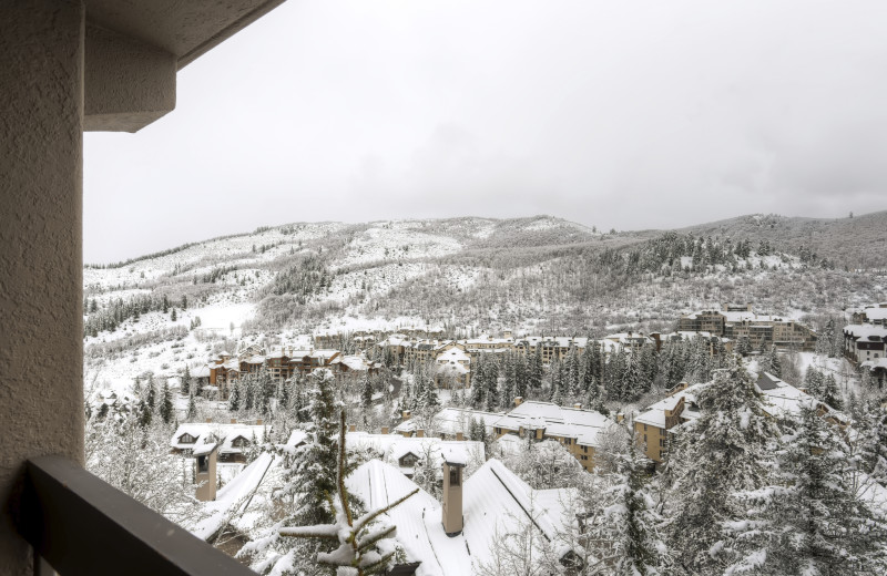 Balcony view at The Pines Lodge, A RockResort.