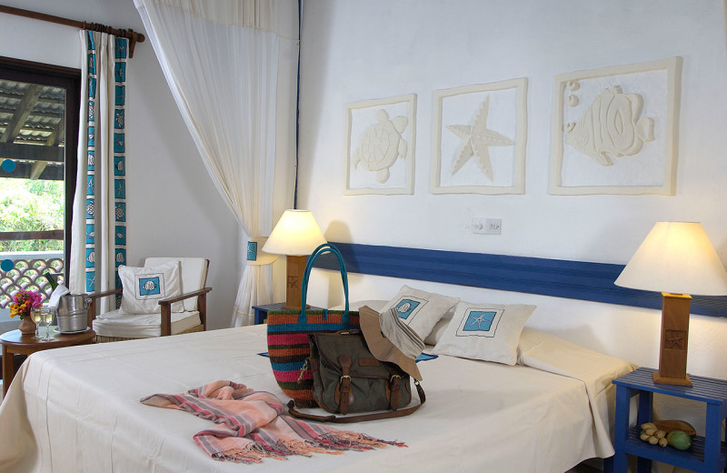 Guest room at Pinewood Village Beach Resort.