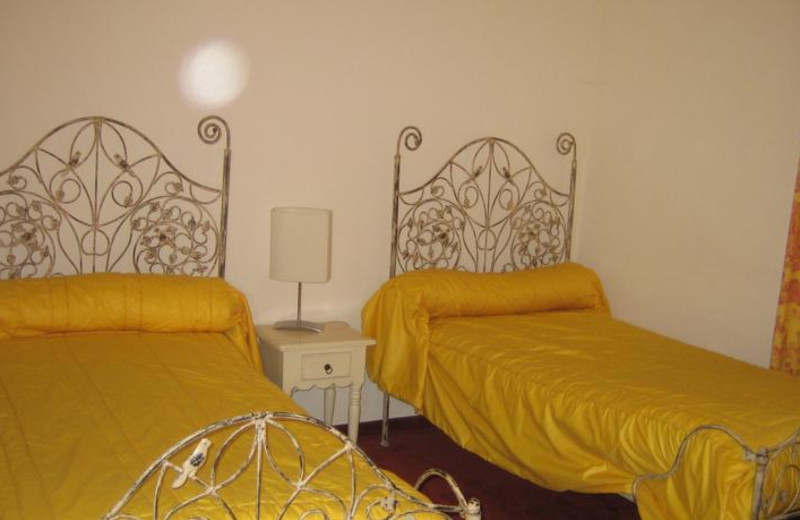 Guest room at L'Atalaya.
