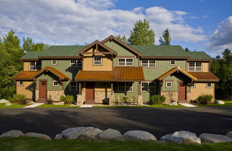 Exterior view of Owaissa Club Vacation Rentals.