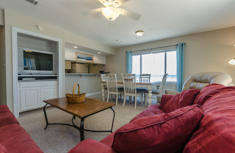 Rental interior at Vacation Homes Perdido Key.