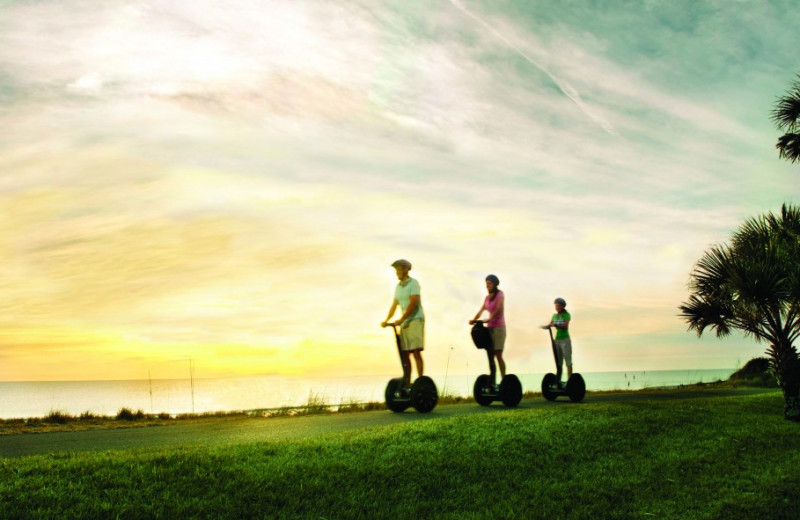 Segway tours at The Villas of Amelia Island Plantation.
