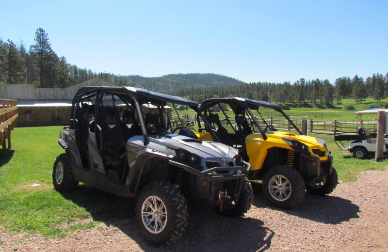 ATV at High Country Guest Ranch.