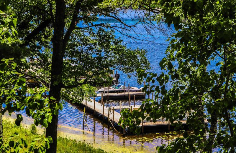 Dock at Lost Lake Lodge.