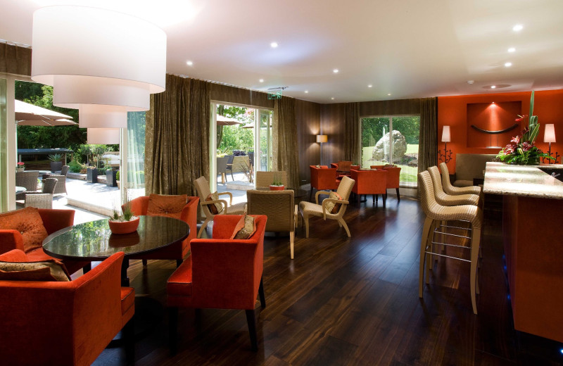 Dining at Gilpin Lodge Country House Hotel and Restaurant.