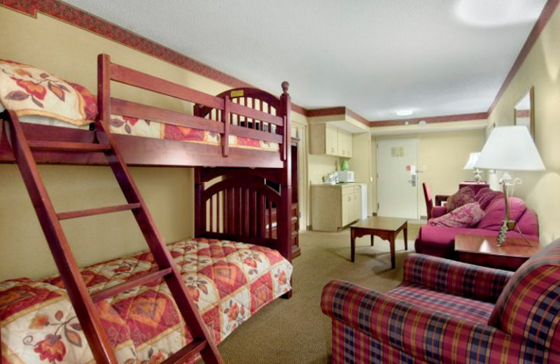 Bunk Bed Suite at  Red Roof Inn