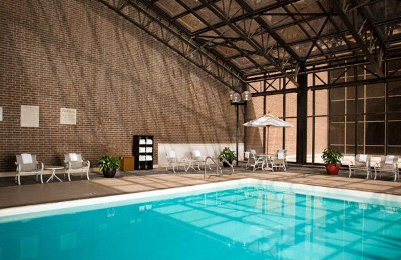 Indoor Pool at the Houston Marriott West Loop