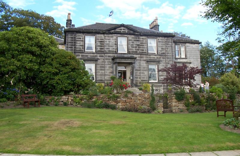 Exterior view of Garvock House.