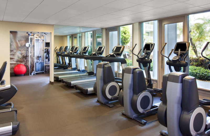 Fitness room at The Westin Key West Resort.