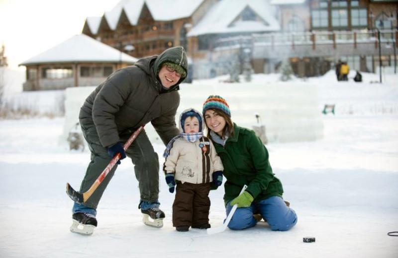 Outdoor activities at Elk Ridge Resort.