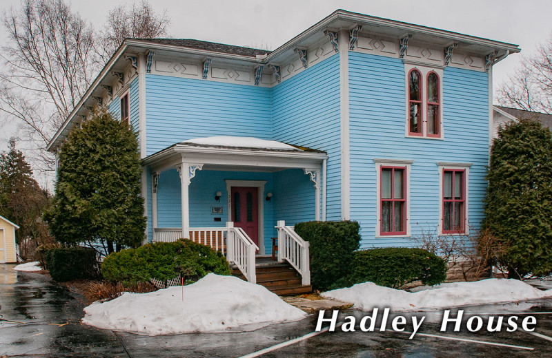 Hadley house exterior at White Lace Inn.