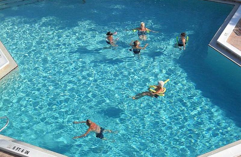 Outdoor pool at Caribbean Beach Club.