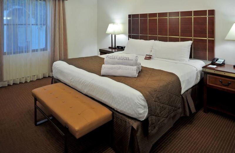 Guest room at Los Abrigados Resort And Spa.