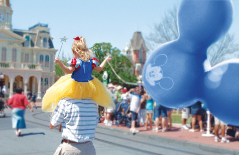 Disney World parks near by at Elite Vacation Homes.
