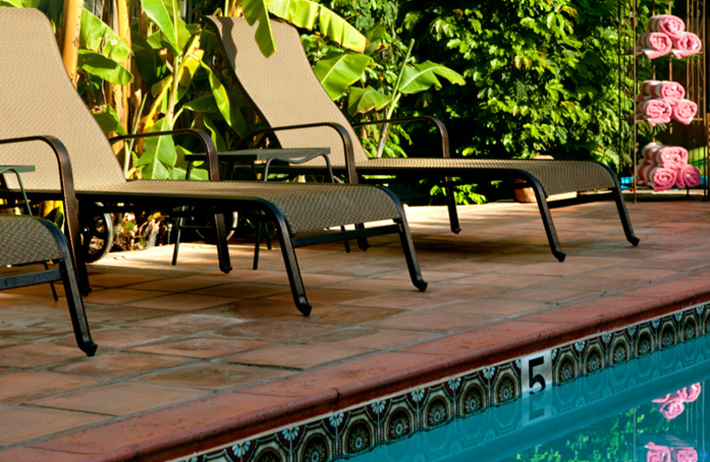 Relax by the pool at Hotel California.