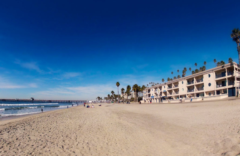 Resort Exterior at the Southern California Beach Club
