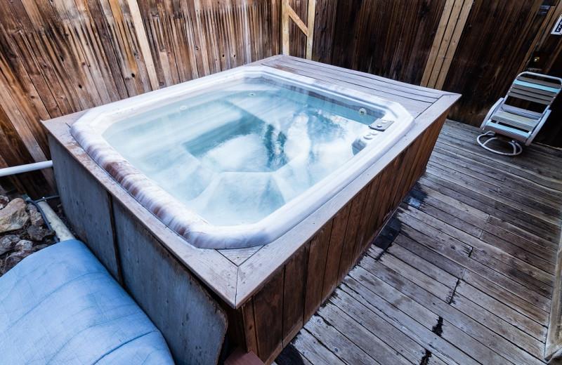 Hot tub at Indian Springs Resort