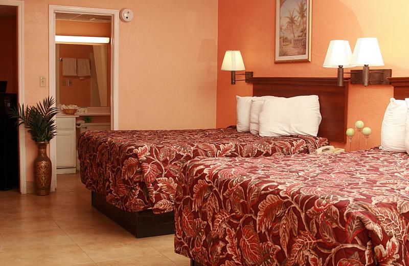 Double guest bedroom at WindWater Hotel & Resort.