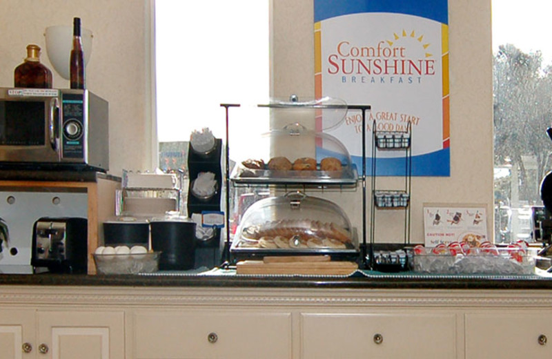 Continental Breakfast at Comfort Inn Palo Alto