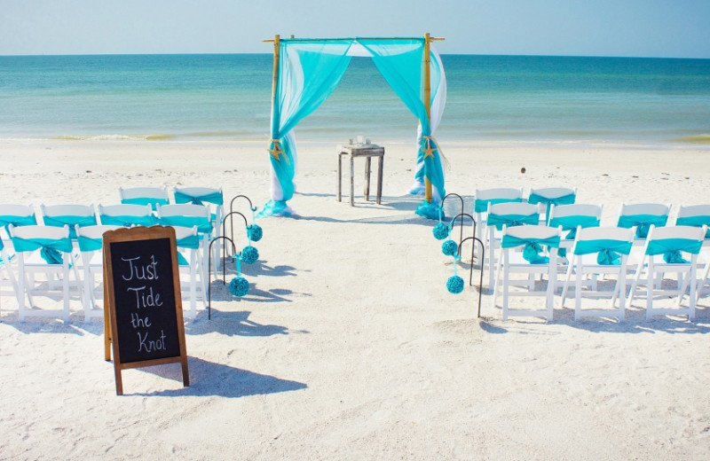 Weddings at Cavalier Beachfront Condominiums.