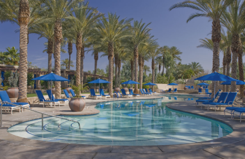 Outdoor pool at Hyatt Grand Champions Resort & Spa.