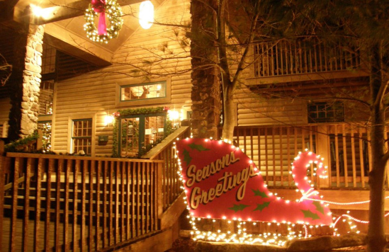 Holidays at The Village At Indian Point.