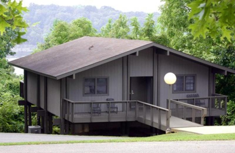 Cabin at Louie B. Nunn Lodge.